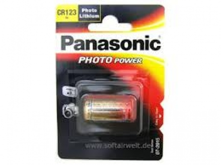 Panasonic CR123 3V Lithium Power