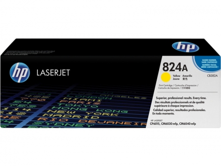 HP Toner Nr. 824A Yellow CB382A