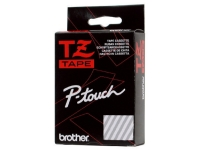Brother Farbband TZe-S222 rot auf weiss