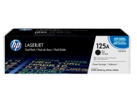 HP Toner Nr. 125A Black CB540AD 2er Pack